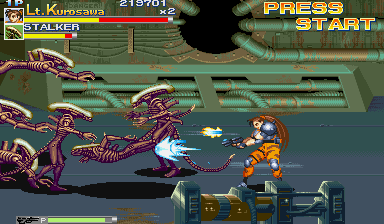 Alien Vs. Predator (1994 Capcom) (ARC)   © Capcom 1994    9/23