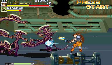 Alien Vs. Predator (1994 Capcom) (ARC)  © Capcom 1994   9/23
