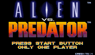 Alien Vs. Predator (1994 Capcom) (ARC)   © Capcom 1994    10/23