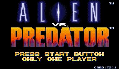 Alien Vs. Predator (1994 Capcom) (ARC)  © Capcom 1994   10/23