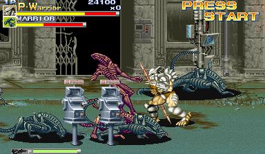 Alien Vs. Predator (1994 Capcom) (ARC)  © Capcom 1994   17/23