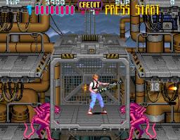 Aliens (1990) (ARC)  © Konami 1990   2/5