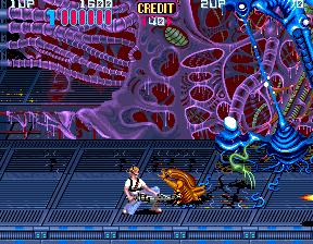 Aliens (1990) (ARC)  © Konami 1990   4/5