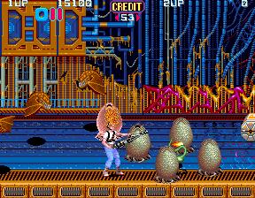 Aliens (1990) (ARC)  © Konami 1990   5/5