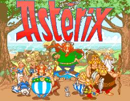 Astérix (1992) (ARC)  © Konami 1992   1/5