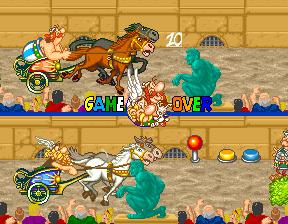 Astérix (1992) (ARC)  © Konami 1992   4/5