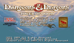 Dungeons & Dragons: Tower Of Doom (ARC)  © Capcom 1994   1/25