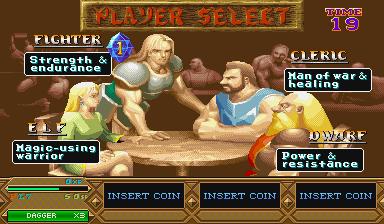 Dungeons & Dragons: Tower Of Doom (ARC)  © Capcom 1994   4/25