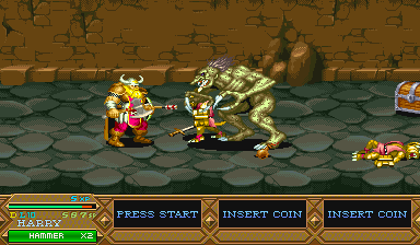 Dungeons & Dragons: Tower Of Doom (ARC)  © Capcom 1994   9/25