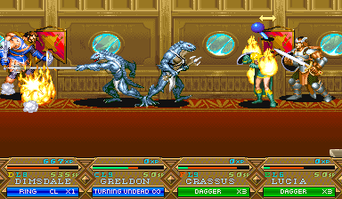 Dungeons & Dragons: Tower Of Doom (ARC)  © Capcom 1994   15/25