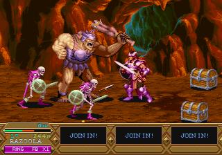 Dungeons & Dragons: Tower Of Doom (ARC)  © Capcom 1994   24/25