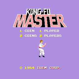 Kung-Fu Master (ARC)   © Data East 1984    1/4