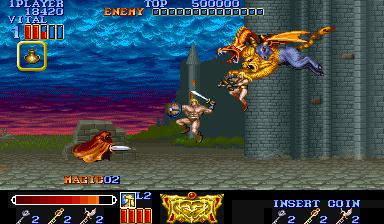 Magic Sword (ARC)  © Capcom 1990   7/7