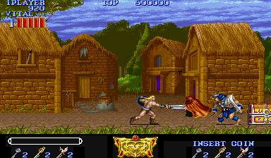 Magic Sword (ARC)  © Capcom 1990   4/7