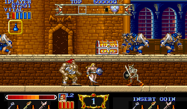 Magic Sword (ARC)  © Capcom 1990   6/7