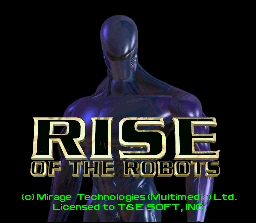 Rise Of The Robots (SNES)   © Acclaim 1994    1/4