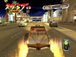 Crazy Taxi 3: High Roller (XBX)  © Sega 2002   1/4
