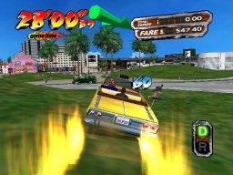 Crazy Taxi 3: High Roller (XBX)  © Sega 2002   2/4