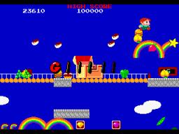 Rainbow Islands (ARC)  © Taito 1987   2/4