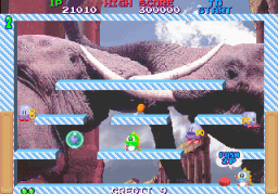Bubble Memories (ARC)  © Taito 1995   3/5