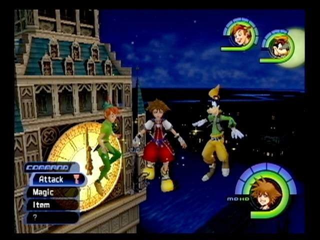 Kingdom Hearts (PS2)  © Square 2002   6/9