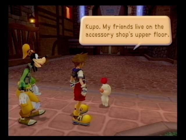 Kingdom Hearts (PS2)  © Square 2002   7/9