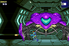 Metroid Fusion (GBA)  © Nintendo 2002   4/5