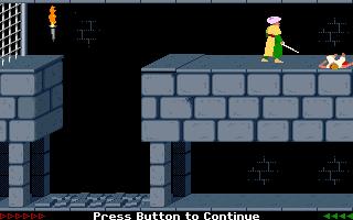 Prince Of Persia (PC)  © Brøderbund 1989   5/25