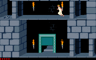 Prince Of Persia (PC)  © Brøderbund 1989   6/25