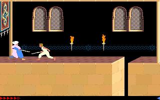 Prince Of Persia (PC)  © Brøderbund 1989   11/25