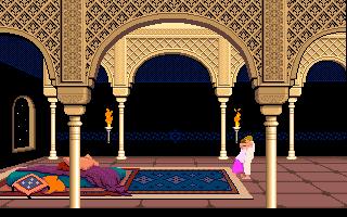 Prince Of Persia (PC)  © Brøderbund 1989   24/25