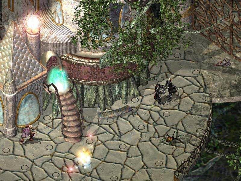 Baldur's Gate II: Shadows Of Amn (PC)  © Interplay 2000   7/10