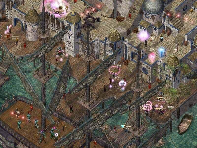 Baldur's Gate II: Shadows Of Amn (PC)  © Interplay 2000   8/10