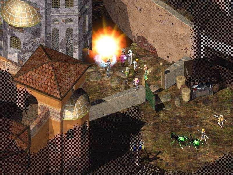 Baldur's Gate II: Shadows Of Amn (PC)  © Interplay 2000   9/10