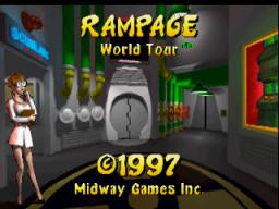 Rampage World Tour (N64)  © Midway 1998   1/3