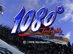 1080° Snowboarding  © Nintendo 1998  (N64)   1/3