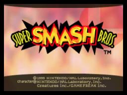 Super Smash Bros. (N64)  © Nintendo 1999   1/4