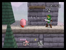 Super Smash Bros. (N64)  © Nintendo 1999   3/4