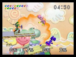 Super Smash Bros. (N64)  © Nintendo 1999   4/4