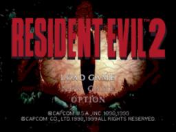 Resident Evil 2 (N64)  © Capcom 1999   1/3