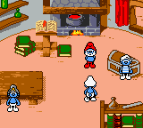 The Adventures Of The Smurfs (GBC)  © Infogrames 2000   2/3
