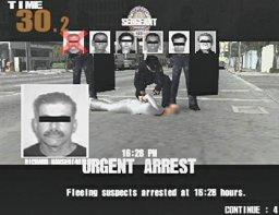 Police 24/7 (PS2)  © Konami 2001   3/3