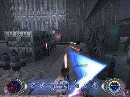 Star Wars: Jedi Knight II: Jedi Outcast (GCN)  © LucasArts 2002   1/5