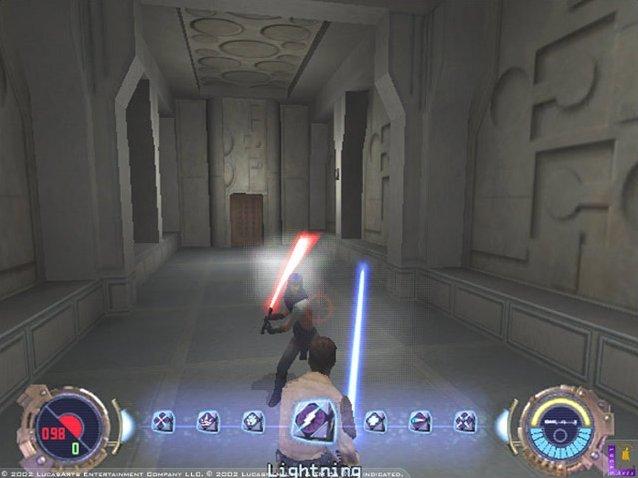 Star Wars: Jedi Knight II: Jedi Outcast (GCN)  © LucasArts 2002   4/5