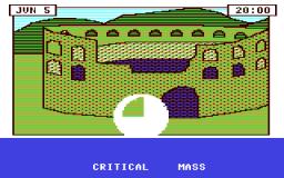Critical Mass (C64)  © Sirius Software 1984   1/2