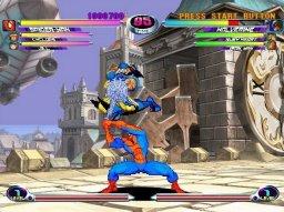 Marvel Vs. Capcom 2: New Age Of Heroes (PS2)  © Capcom 2002   1/3