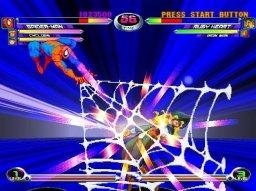 Marvel Vs. Capcom 2: New Age Of Heroes (PS2)  © Capcom 2002   2/3