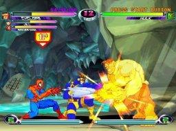 Marvel Vs. Capcom 2: New Age Of Heroes (PS2)  © Capcom 2002   3/3