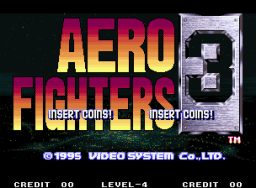 Aero Fighters 3 (MVS)   © SNK 1995    1/7