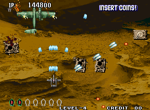 Aero Fighters 3 (MVS)   © SNK 1995    4/7